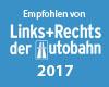Empfohlen von Links+Rechts der Autobahn